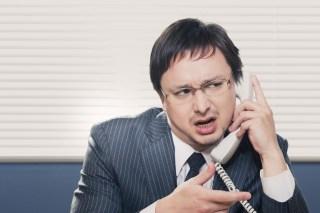 電話セールスの痛い人