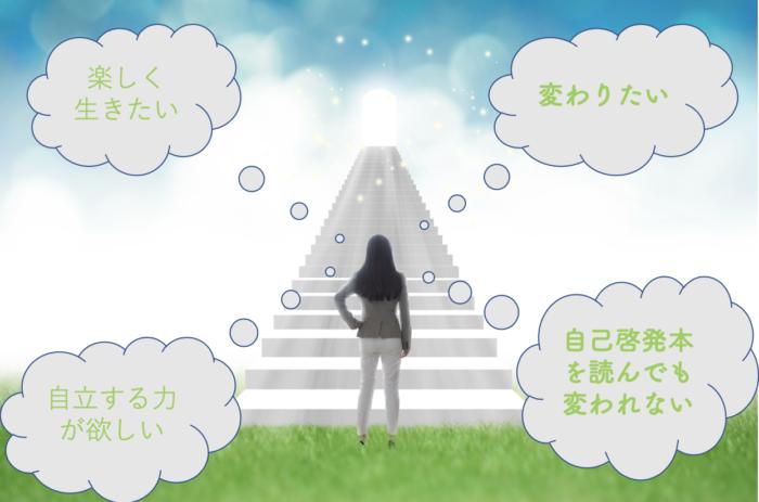 人生を変えて明るい未来へ突き進む人